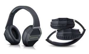 Photive X-bass Wireless Bluetooth Headphones With Built-in Microphone And Hard Travel Case. Free Returns.