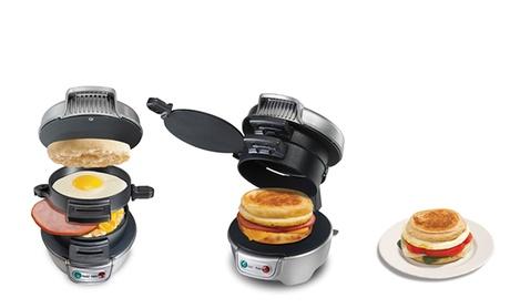 Hamilton Beach Electric Breakfast Sandwich Maker 63e3a400-d763-11e6-bc5c-00259069d868