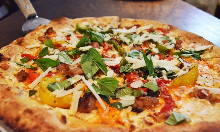 Goodfella's Brick Oven Pizza - New York: Pizzeria Cuisine for Two or Four at Goodfella's Brick Oven Pizza (50% Off)
