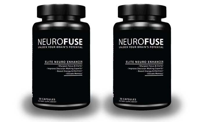 Neurofuse: $59.99 for Two Bottles of Cognitive-Enhancement Supplements from Neurofuse ($119.98 Value)