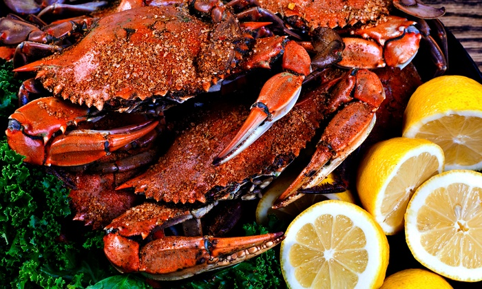 Cork Crab Company - Roseville - Fleet Ridge: Crab Buffet with 5 Drinks or Lobster Buffet with 10 Drinks at Cork Seafood Festival (Up to 42% Off)