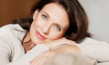 One or Three Noninvasive Face-Lifts at The Skinny Center (Up to 86% Off)