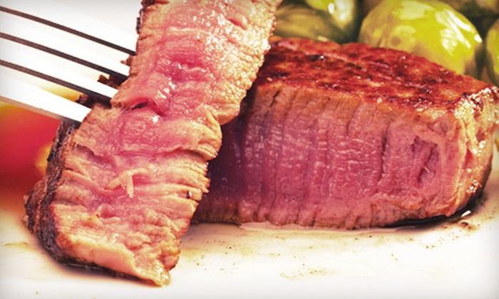 George's Steakhouse Bar & Grill - Modesto: $12 for $25 Worth of Steaks and Seafood at George's Steakhouse Bar & Grill