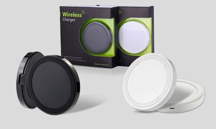 Wireless Charger for iPhones or Micro-USB / Android Smartphones for €9.99 (75% Off)
