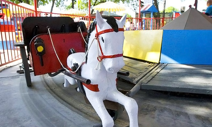 Kiddie Park San Antonio - Uptown Broadway: Unlimited Rides for Four at Kiddie Park (Up to 62% Off). Three Options Available.
