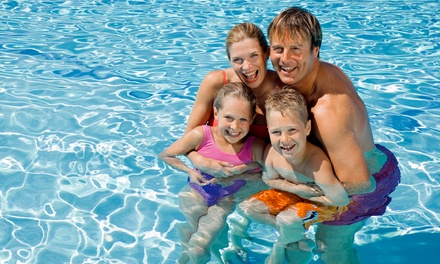 $35 for Five One-Day Family Passes at Jefferson Community Pool ($75 Value)