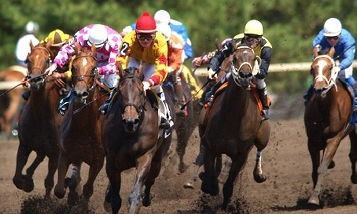 Canterbury Park - Shakopee: $12 for Five Admissions with Programs to Live Horse Racing at Canterbury Park in Shakopee (Up to $25 Value)