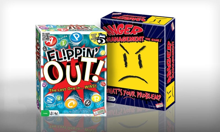 Party Board Game: $7.99 for Flippin' Out or Anger Management Party Board Games ($22.49 List Price)