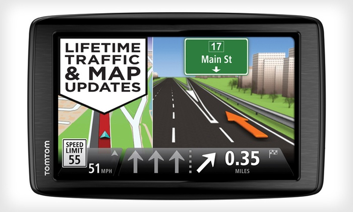 """TomTom VIA 1605TM GPS with 6"""" Screen, Lifetime Map & Traffic Updates: $129.99 for TomTom VIA 1605TM GPS Navigator (Manufacturer Refurbished) ($229.95 List Price). Free Shipping and Returns."""