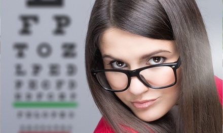 Comprehensive Eye Exam with Optional Contact-Lens Evaluation and Fitting at Advanced Eye Care (Up to 58% Off)
