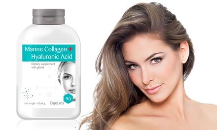 Fino a 720 capsule di acido ialuronico e collagene marino