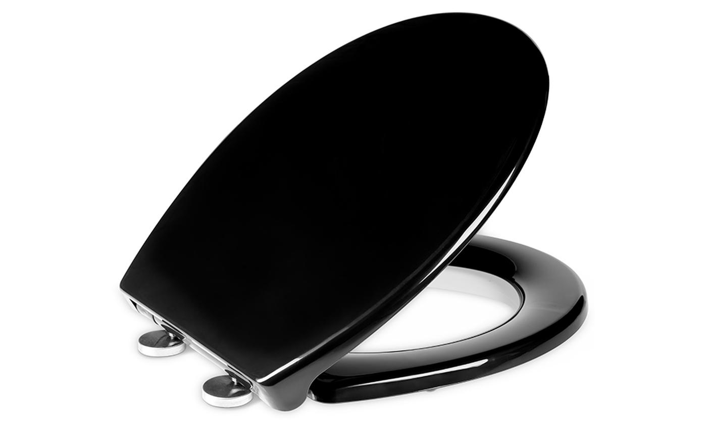 One or Two Quick Release Toilet Seats