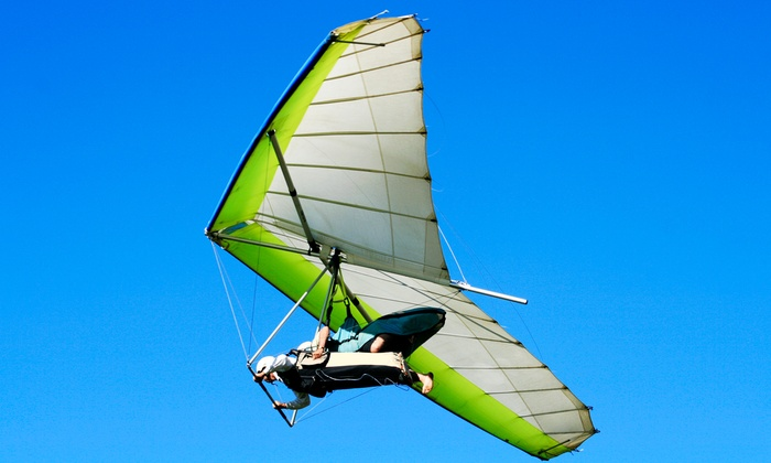 Thermalriders LLC - Luling: Tandem Hang-gliding Flight for One or Two from Thermalriders LLC (Up to 46% Off)