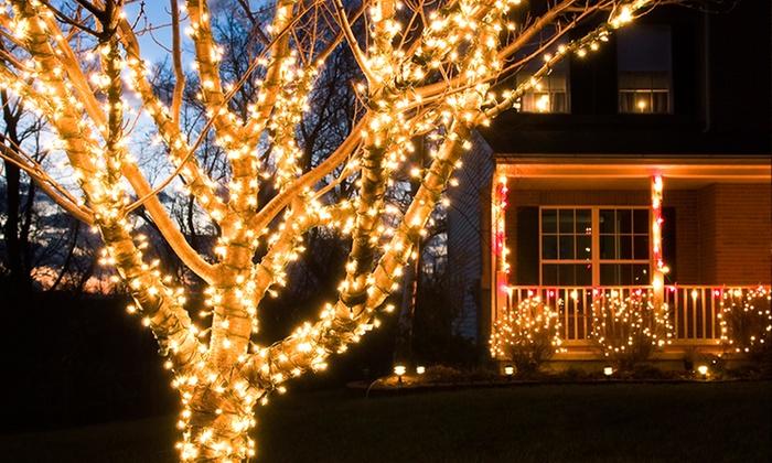 String Lights Vistaprint : Solar-powered LED String Lights Groupon Goods