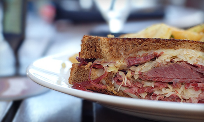 The Monarch - Delano: $10 for $20 Worth of Sandwiches and Bar Food at The Monarch