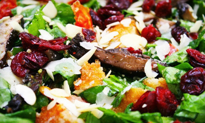 Wild Greens - Westfield: Chopped Salads, Sandwiches, and Wraps at Wild Greens (Half Off). Two Options Available.