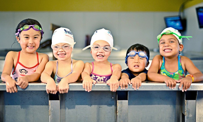 SwimLabs Swim School - Dove Valley: Four or Eight Group Swim Lessons at SwimLabs Swim School in Centennial (Up to 47% Off)
