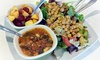 CJ's Cafe in Bronte - Oakville: C$8.25 for a Breakfast or Lunch Combo of Healthy & Organic Fare at CJ's Cafe in Bronte  (C$15 Value)