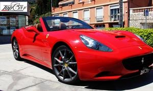 Top Car Rental Monaco: De 15 min à 2h de conduite au volant d'une Ferrari California ou Italia dès 79,90 € avec Top Car Rental Monaco