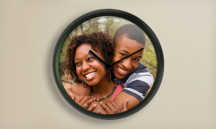 Custom Clock: $24.99 for a Custom 17'' Large Clock from CafePress ($40 List Price). Free Shipping.