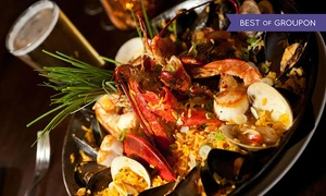 Pacifico: Nuevo Latino Dinner for Two with Tapas and Specialty Drinks at Pacifico (Up to 34% Off). Two Options Available.