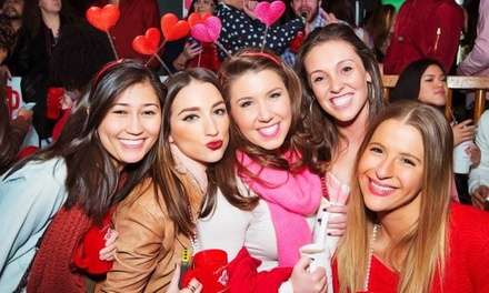 One or Two Admissions to Cupid's Bar Crawl 2015 on Saturday, February 7 (Up to 50% Off)