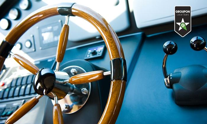 Blue Dream - BLUE DREAM (ROMA): Corso per la patente nautica entro o oltre le 12 miglia più lezioni pratiche in mare (sconto fino a 70%)