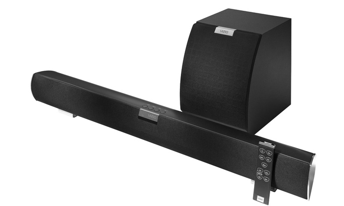 Vizio 32 2 1 Home Theater Sound Bar With Subwoofer Vsb211