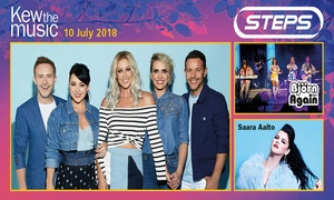 Raymond Gubbay Ltd: Groupon Exclusive Two for One Tickets: Kew the Music: Steps, Bjorn Again & Saara Aalto, 10 July at Royal Botanic Gardens