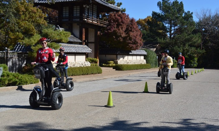 Segway Fort Worth - Multiple Locations: Tacky Christmas Sweater Holiday Segway Tourfor One, Two, or Four from Segway Fort Worth(Up to 56% Off)