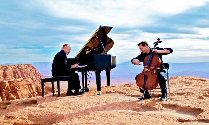 ThePianoGuys - Red Hat Amphitheater: ThePianoGuys at Red Hat Amphitheater on Friday, August 7, at 8 p.m. (Up to 49% Off)