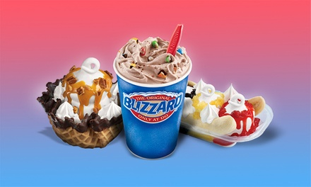 Ice Cream and Frozen Treats at Dairy Queen (40% Off). Two Options Available.