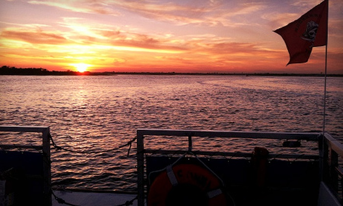 Freeport Water Taxi & Tours - Freeport: Sunset or Happy-Hour Cruise for Two or Four from Freeport Water Taxi & Tours (Up to 53% Off)