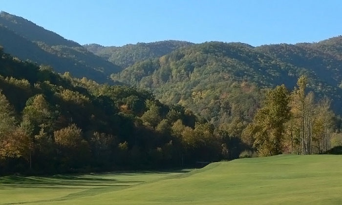 Smoky Mountain Country Club - Whittier: 18 Holes of Golf for Two or Four Plus Cart Rental and Range Balls at Smoky Mountain Country Club (Up to 58% Off)