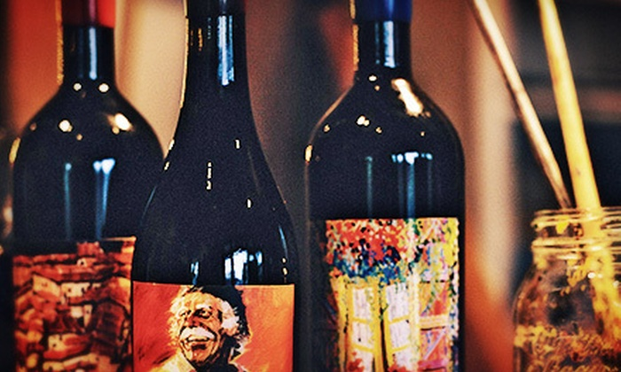 Artiste - Los Olivos: Painting and Wine Tasting for Two or Four at Artiste (Up to 55% Off)