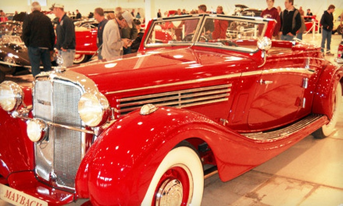 13th Annual Classics and Chrome Car Show - Machesney Park: Admission for Two, Four, or Eight to The Classics and Chrome Car Show (Half Off)