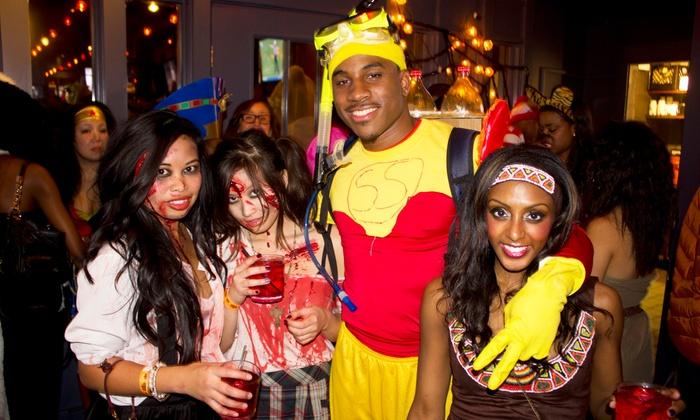 A Nightmare on Hubbard Street - John Barleycorn: A Nightmare on Hubbard Street - Halloween Costume Bar Crawl on Saturday, November 1 (Up to 47% Off)