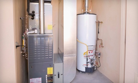 Cleaning and Inspection of aResidential Heating Unit, Water Heater, or Both(Up to 56% Off)