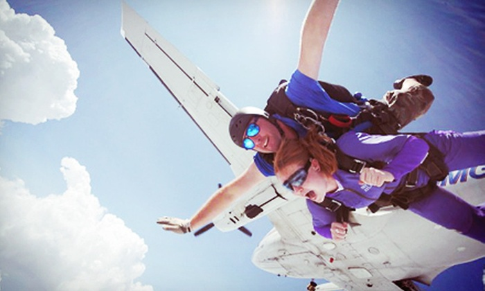 Skydive Georgia - Arrowhead Hills: $124 for a Tandem-Skydiving Session from Skydive Georgia ($250 Value)