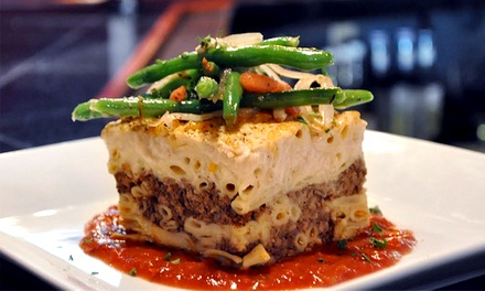 Three-Course Greek and Indian Meal for Two or Four at The Mad Greek (Up to 50% Off)