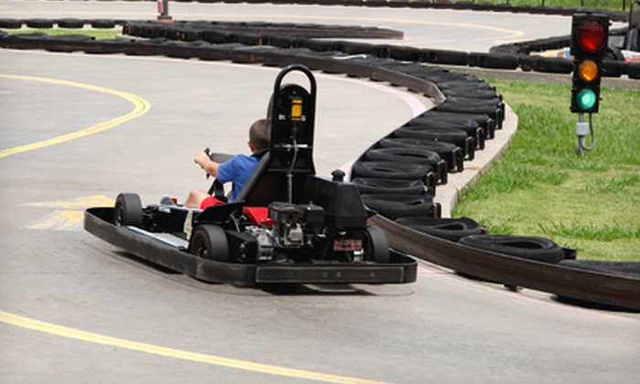 Zone Action Park - Lewisville: Three Hours of Unlimited Go-Karting and Mini Golf for Two, Four, or Six or Birthday Bash for up to 16 Children at Zone Action Park in Lewisville (Up to 57% Off)