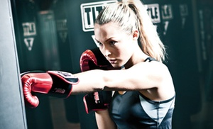 Title Boxing Club: Two Weeks of Unlimited Boxing and Kickboxing Classes with Gloves and Hand Wraps at Title Boxing Club (Up to 62% Off)