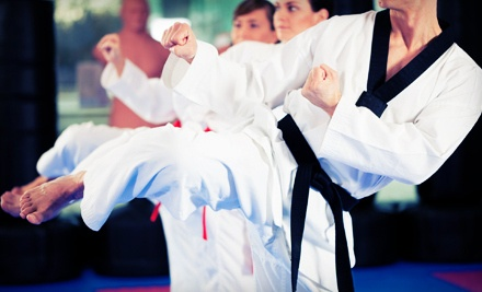 Registration and One Month Chun Kuk Do or Beginner's Brazilian Jiu Jitsu - Cox & Gallacher Karate in Henderson
