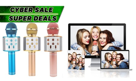$16.95 for a Portable Wireless Karaoke Microphone