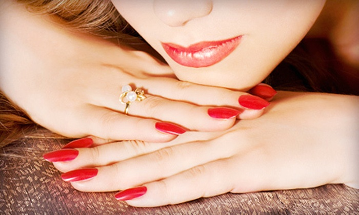 Gel Nails By Noelle - Tempe: One or Two Gelish Manicures or One Full Set of Brisa Gel Nails at Gel Nails By Noelle (Up to 58% Off)