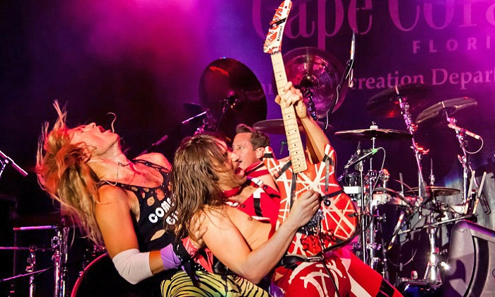 Atomic Punks - Tribute to Early Van Halen, or Super Diamond - Tribute to Neil Diamond, or Heart Attack - Tribute to Heart - House of Blues Anaheim: Heart, Van Halen, or Neil Diamond Tribute at House of Blues Anaheim on July 6 or September 12 or 26 (Up to 55% Off)