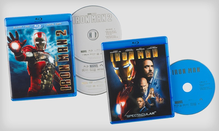 Iron Man 1 or 2 on Blu-ray: Iron Man 1 or 2 on Blu-ray