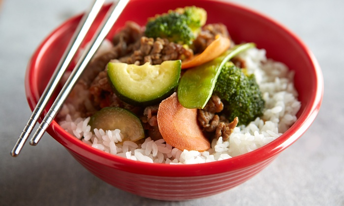 Mongolia Express - CPR West: C$12 for C$20 Worth of Mongolian Food at Mongolia Express