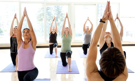 $35 for 10 Yoga Sessions at Halo Hot Yoga ($120 Value)