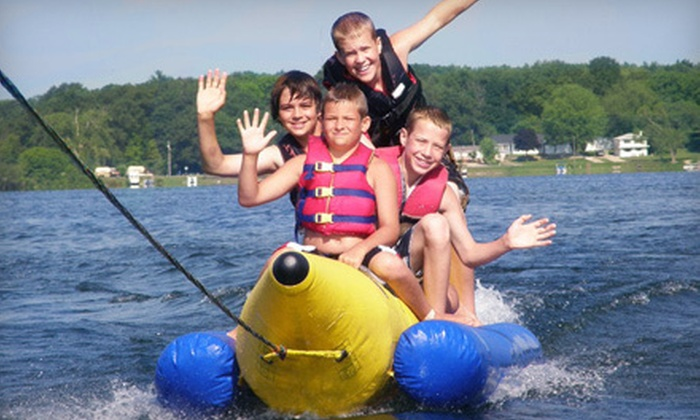 YMCA Camp Eberhart - Three Rivers: $290 for One Week of Sleepover Camp at YMCA Camp Eberhart (Up to $583)
